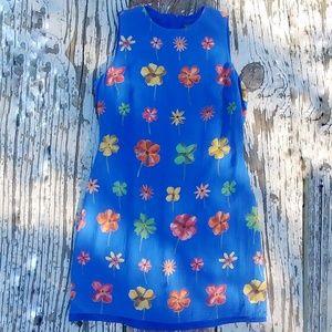 Vintage 90s Floral Summer Dress
